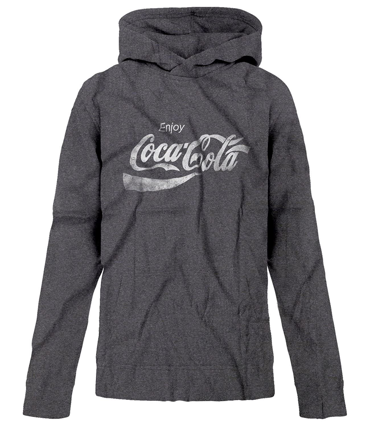 BSW Youth Boys Enjoy Coca-Cola Coke Pop Soda Drink Vintage Logo Hoodie 1398-1HPY