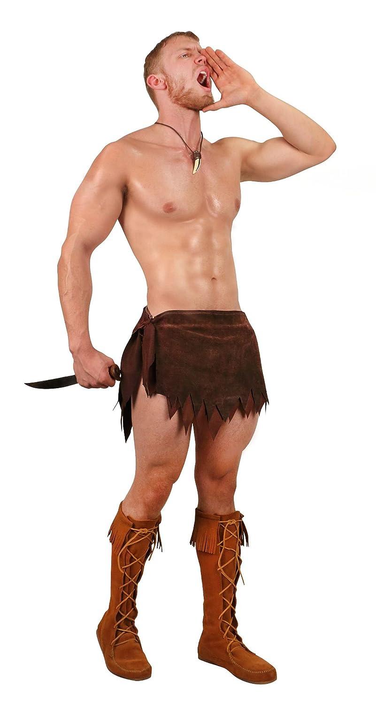 Museum Replicas Limited Men's Fantasy Suede Loincloth Jungle Costume