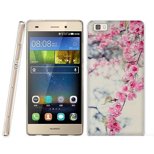 23 opinioni per Huawei P8 LITE Cover, Fubaoda 3D Rilievo Bel fiore UltraSlim TPU Skin Cover
