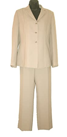 top-rated original top-rated cheap limited guantity Wallis Beige Trouser Suit Size 12 Petite: Amazon.co.uk: Clothing