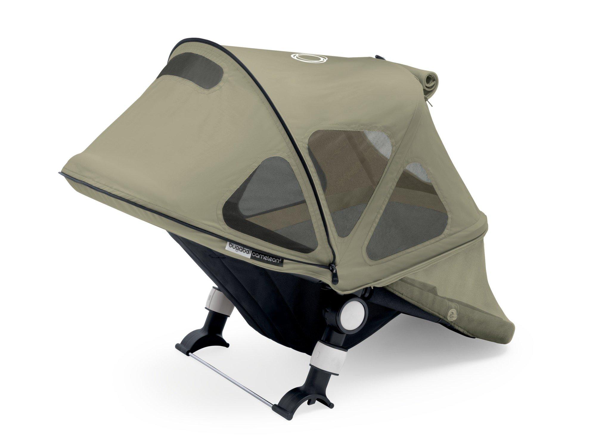 Bugaboo Cameleon Breezy Sun Canopy, Dark Khaki product image