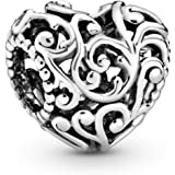 Pandora Jewelry Regal Heart Sterling Silver Charm