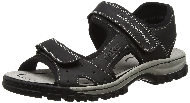 Rieker 25084 Sandals Men Herren SandalenRieker Sandals Men Sandalen Schwarz schwarz Billig und erschwinglich Im Verkauf