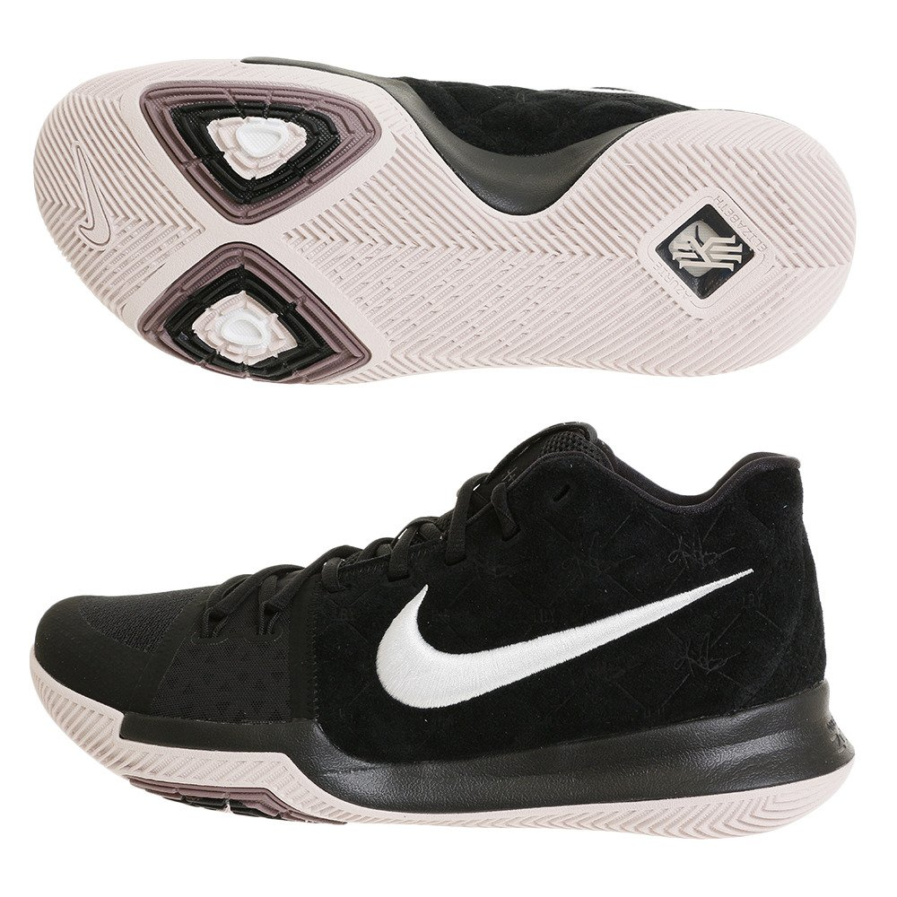 new products 20e6e e0f83 Amazon.com   NIKE Men s Kyrie 3 EP, Black White-SILT RED, 8.5 M US   Shoes