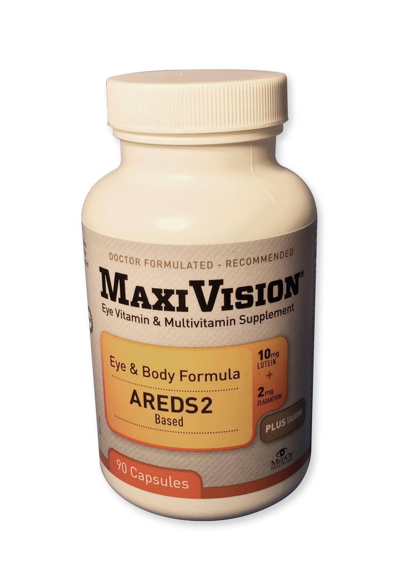 MaxiVision® Eye & Body Formula - 90 Capsules