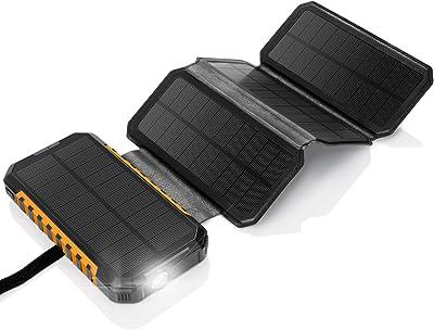 AddAcc solar battery bank 20,000 mAh