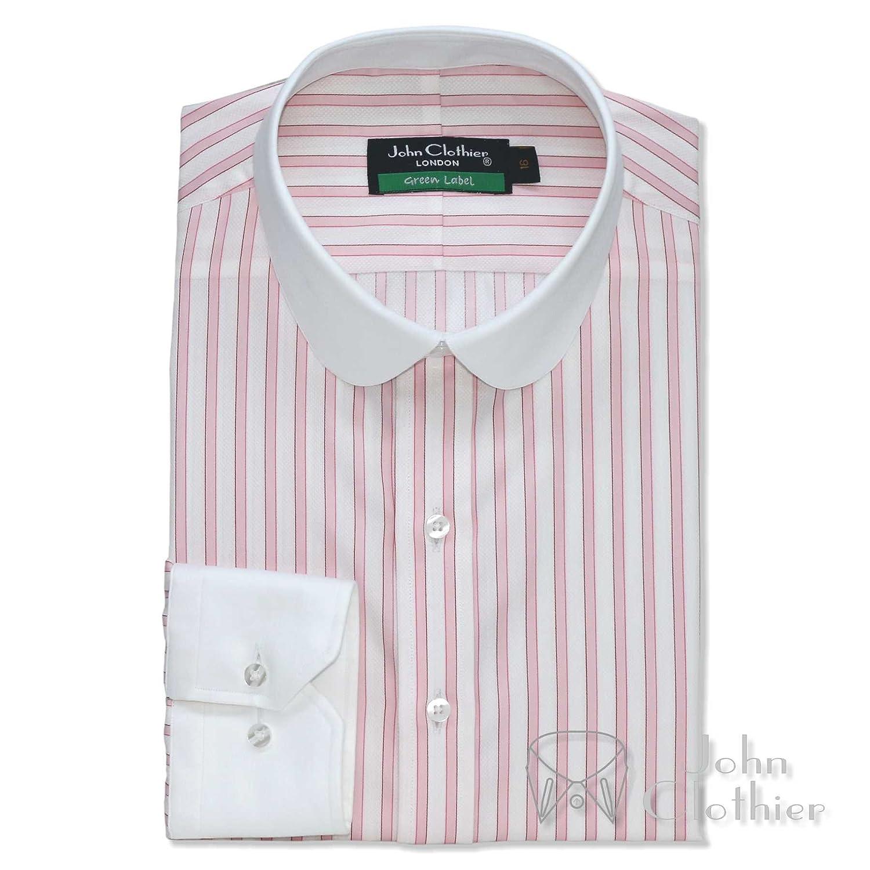 95dbb60f Lyst - KENZO Round Collar Shirt in White for Men