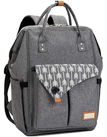 9d538e789677 Lekebaby Baby Nappy Changing Backpack Bag with Changing Mat