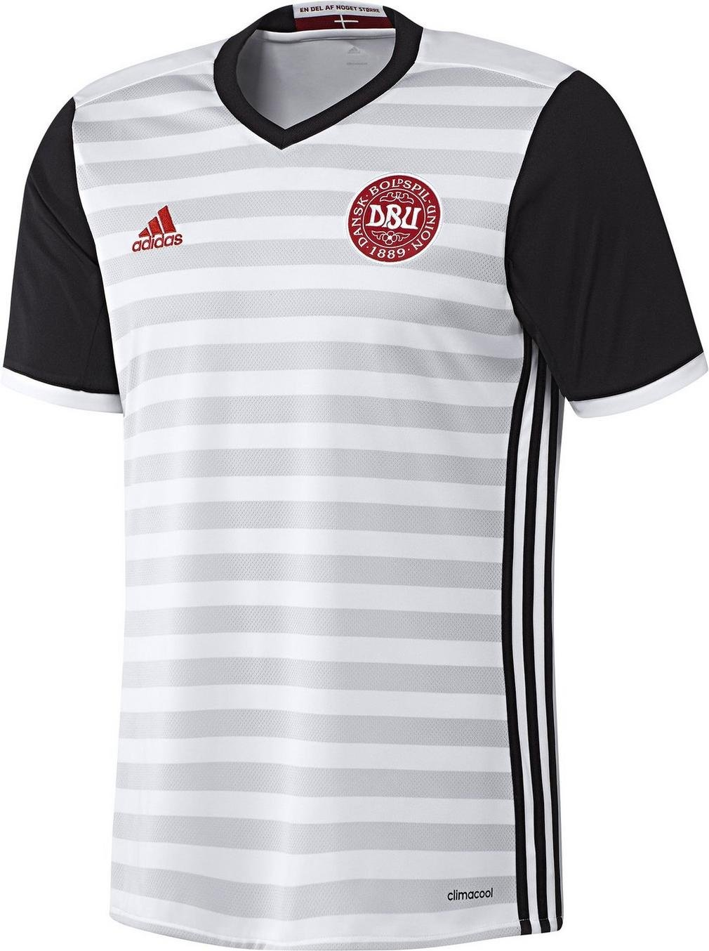 2016-2017 Denmark Away Adidas Football Shirt (Kids) A99913