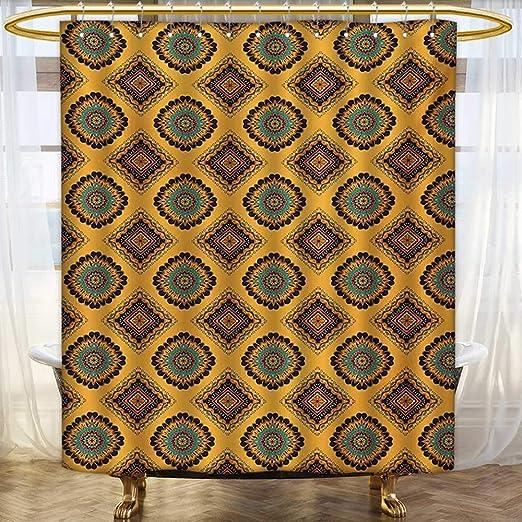 Lacencn Vintage, cortinas de ducha, impresión digital 3D ...