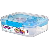 Sistema Bento Lunch Box to Go with Fruit/Yogurt Pot, 1.65 L
