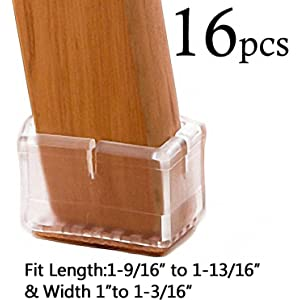 9b925fadfec 32Pack Anwenk Chair Leg Floor Protectors for 1 to 1-3 16 Inch Chair ...