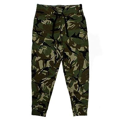 791fc245976c1 Amazon.com: Polo Ralph Lauren Men's Cotton Blend Camo Fleece Jogger Pants  (Green Multi, Large): Clothing