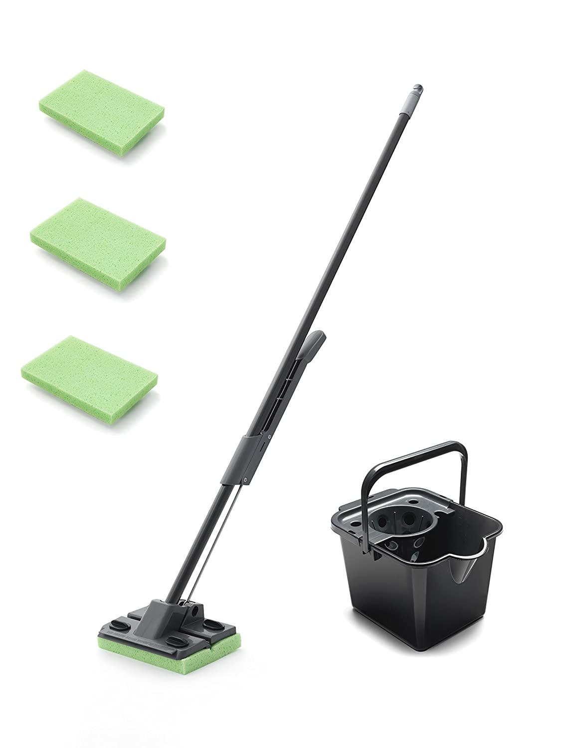 Addis Cotton Mop with Free Refill, Graphite 508889