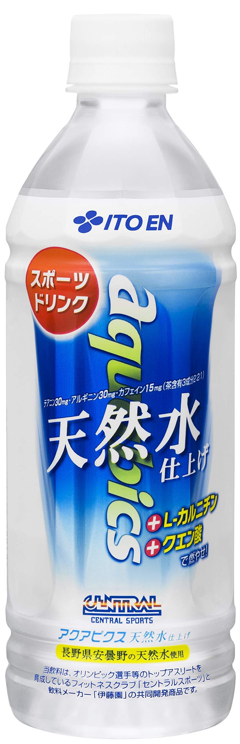 Ito En water aerobics natural water finish 500mlX24 this