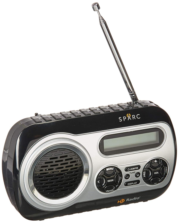 a5d7666d54b Amazon.com  SPARC HD Radio SHD-TX2 Portable Radio with AM FM   HD Radio  Tuners