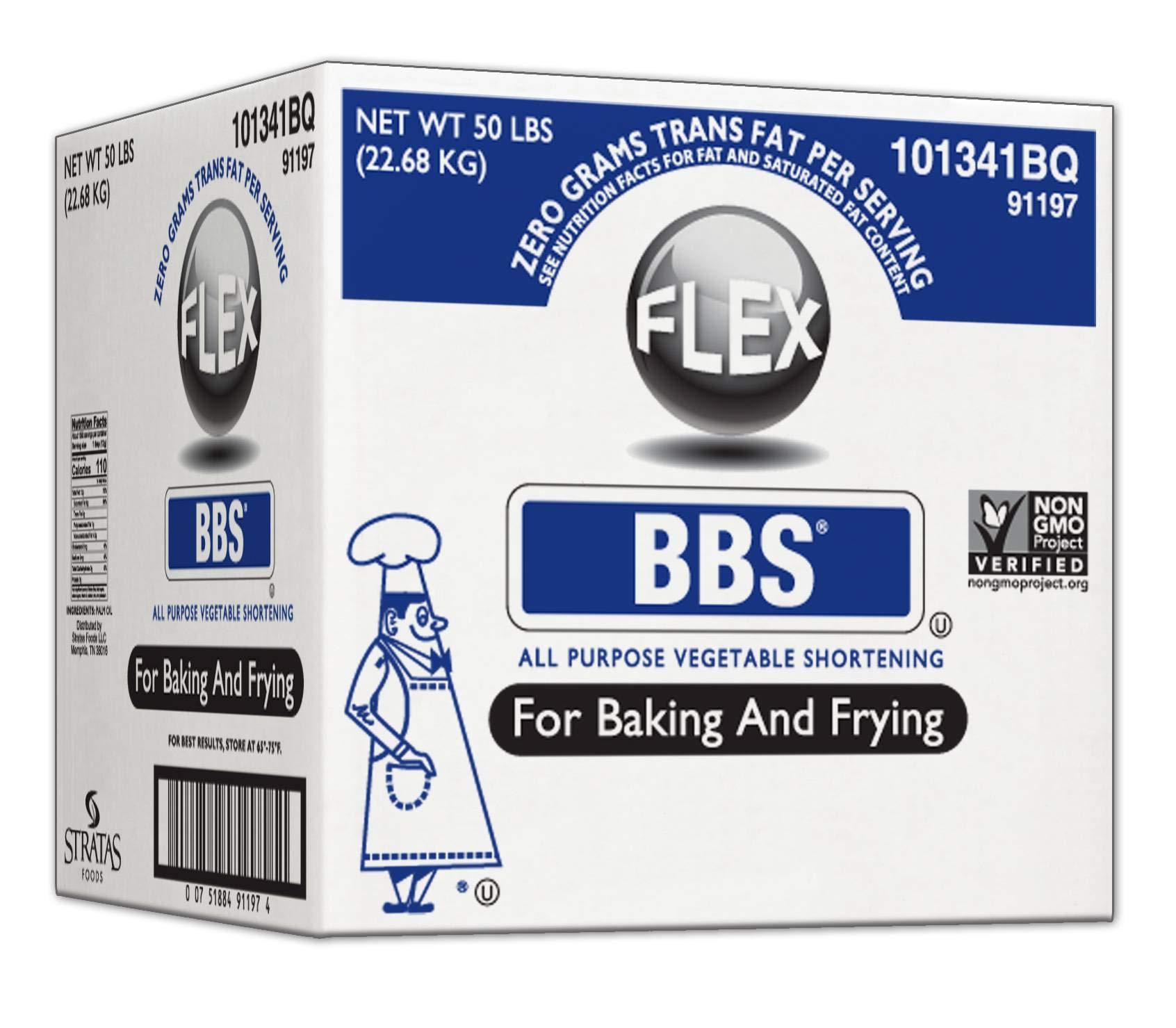 Bbs Flex Shortening, 50 Pound -- 1 each. by Stratas Foods (Image #1)