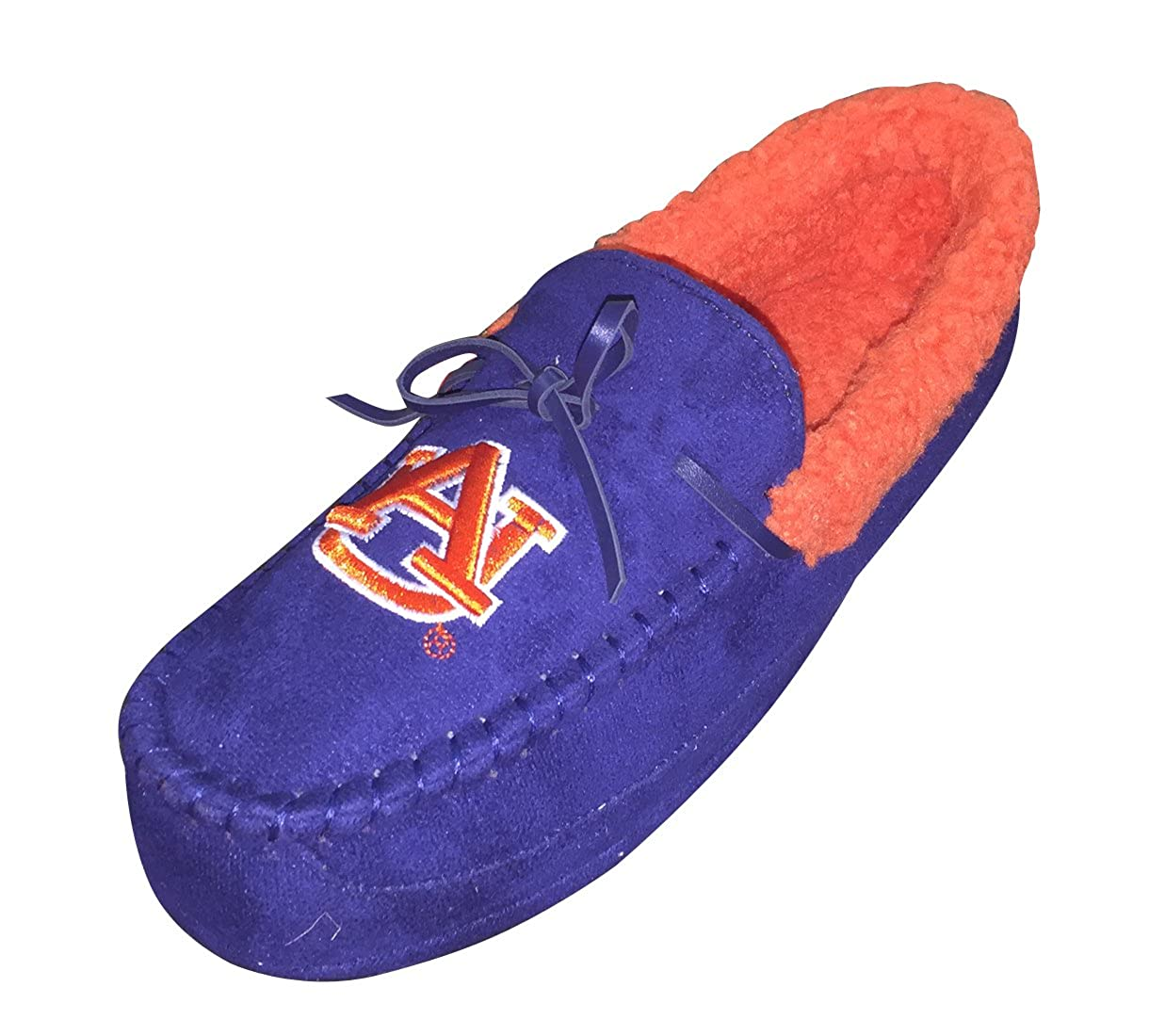 Renaissance Imports Inc NCAA-Auburn Tigers Comfort House Slippers Indoor//Outdoor-Blue//Orange