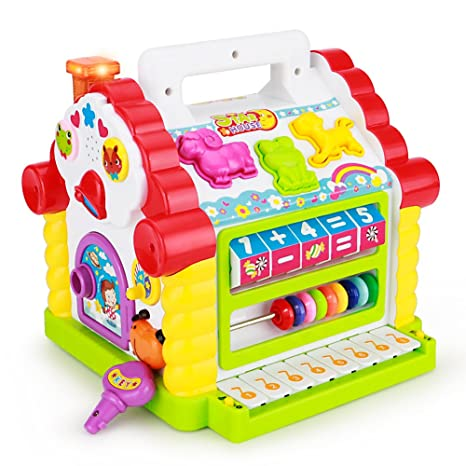 Buy TOYK Kids toys Musical Colorful Baby Fun House 45701b42e9cf