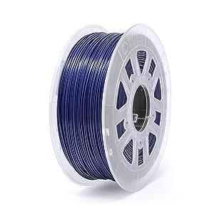Gizmo Dorks 1.75mm ABS Filament 1kg / 2.2lb for 3D Printers, Dark Blue