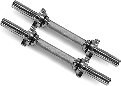 "CAP Standard Barbell Handles 2 Handles 14/"" 1/"" inch hole New Read description"