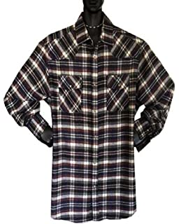 Falcon Bay//P /& J Big and Tall Big and Tall Fleece-Lined Flannel Shirts UP To 6XT Brown Color Only