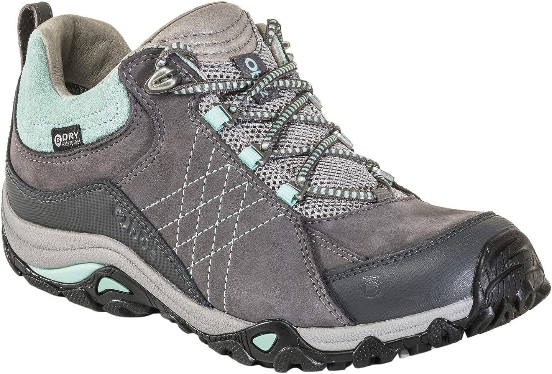 Oboz Women s Sapphire Low B-Dry Waterproof Hiking Shoe