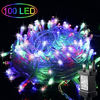 2 100 Led Fairy Lamp LED String Light Christmas New Year Decoration Multicolor