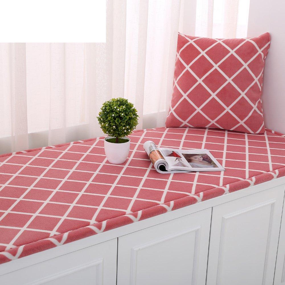 Mat/window mat/european-style bay window cushion/sill pad/non-slip balcony mat/tatami cushion-B 50x180cm(20x71inch)