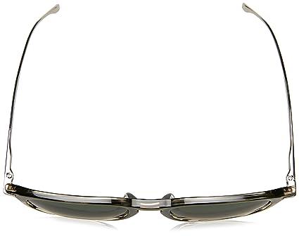 BOSS Hugo Boss Hugo Boss Herren Sonnenbrille Boss 0724/S 9U Kdn, Blau (Matte Blue Matte Dark Ruth/Grey Mirror Silver), 58