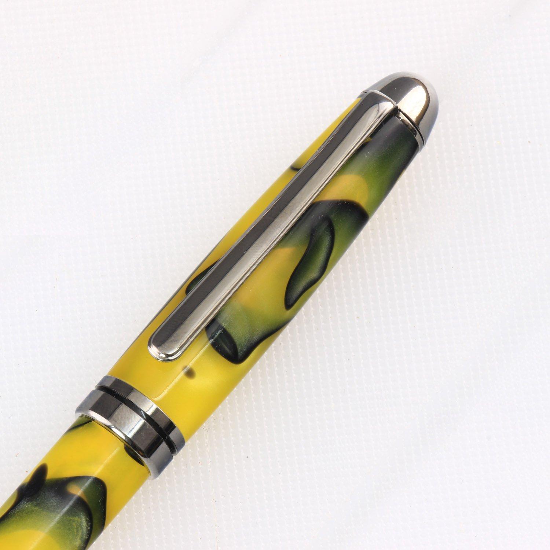 Multi-Packs The Instrument Store European/_Gun/_Metal/_10 European Pen Kit Many Finishes Legacy Woodturning