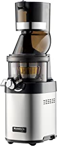Kuvings CS600 Whole Slow Juicer with BPA-Free Components, 24 Hour Operation, Easy to Clean, Heavy Duty, Commercial Grade, Stainless Steel