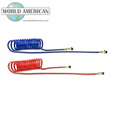World American WA451039N Coiled Hose: Automotive