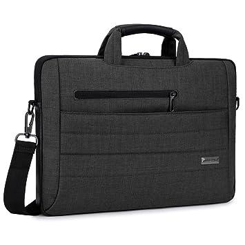Brinch® Tela de traje multifuncional funda de transporte de neopreno Clipcase hombro portátil bolsa caso para el MacBook 13.3 inch/Notebook negro ...
