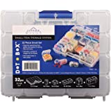 Cottage Mills DotBox Small Set 32 pcs. 31 Storage Boxes in a Carrying case. It's The Ultimate Small Item Storage System. Perfect for Bead, Jewelry, Craft and Small Part Storage.