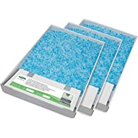 PetSafe ScoopFree Self-Cleaning Cat Litter Box Tray Refills with Premium Blue Non Clumping Crystal Litter, 3-Pack