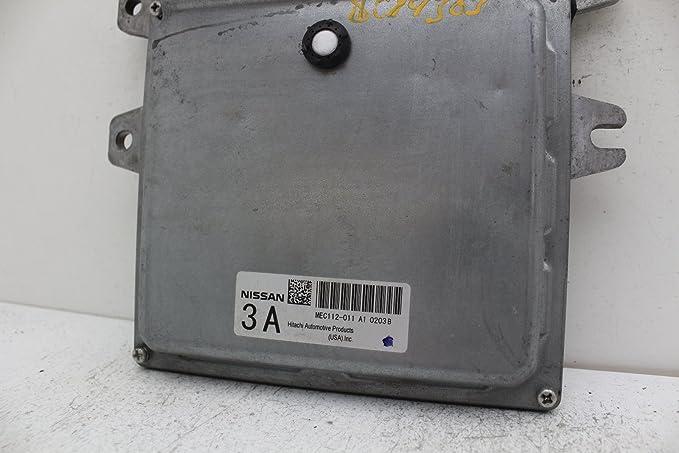 2010 NISSAN ALTIMA OEM ENGINE CONTROL MODULE MEC112-011 A1 FREE SHIPPING