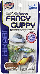 Hikari Usa Tropical Fancy Guppy for Pet Health, Fish Food 1.54oz (2 PACK)