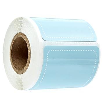 Amazon.com: Sky Blue - Etiquetas de almacenamiento, 100 ...