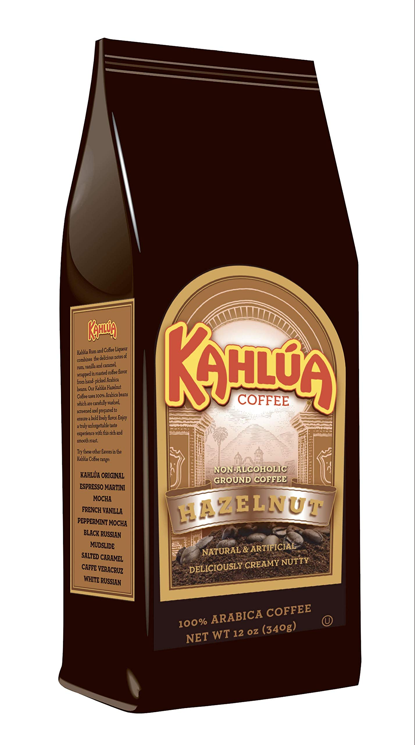 White House Coffee, Roasted Ground Coffee, Kahlua Hazelnut, 12 Ounce