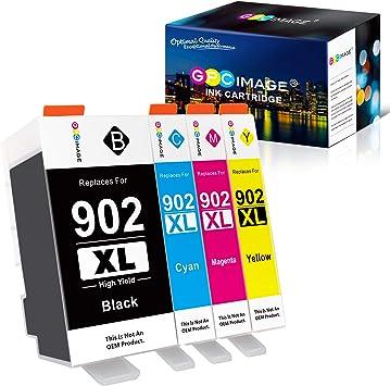Amazon.com: GPC Image - Cartuchos de tinta de repuesto para ...