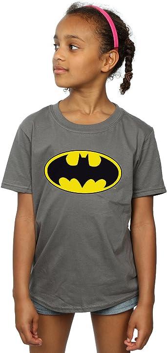 DC Comics niñas Batman Logo Camiseta: Amazon.es: Ropa y accesorios