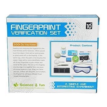Buy Muren's Educational Fingerprint Verification Set Game