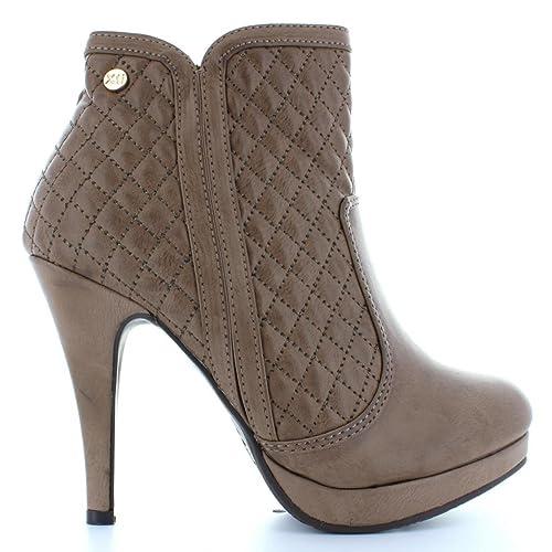 Botines de Mujer XTI 73942 C Taupe Talla 40: Amazon.es: Zapatos y complementos
