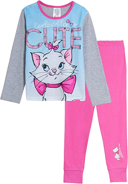 Girls Character Nightwear Pyjama Set Kids Pj Gift
