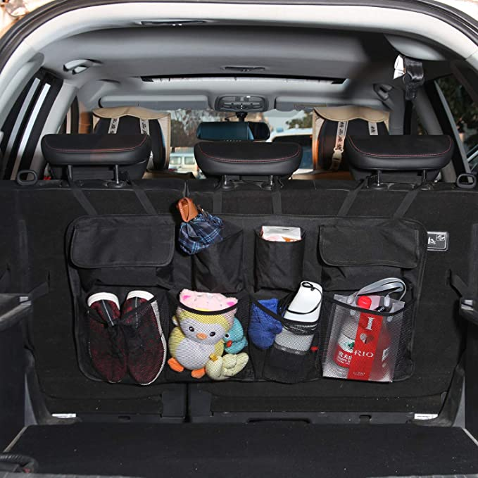 Power Advantage Ez Trunk Organizer and Cooler Fully Collapsible and Portable Keep Trunk of Your Vehicle Neat and Clean