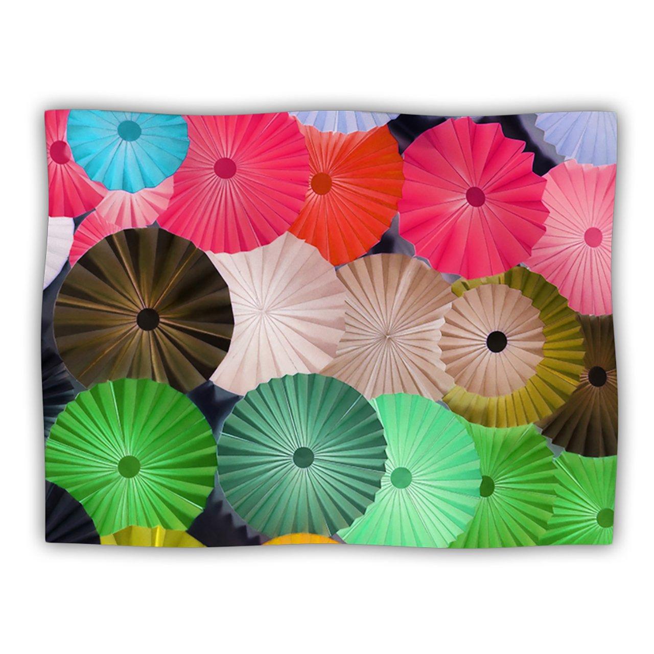 Kess InHouse Heidi Jennings Parasol Paper Circle Pet Blanket, 40 by 30-Inch