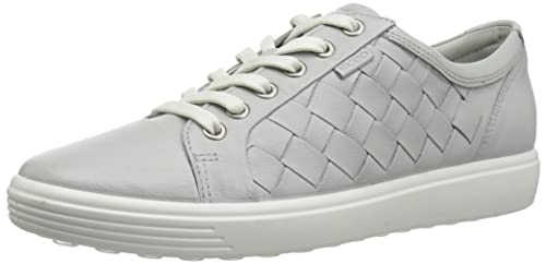2bfc5cf4836 ECCO Shoes Women s Soft 7 Woven Lace Fashion Sneakers Black  Amazon ...