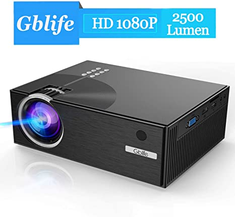Gblife Proyector de Video de 4000 lúmenes y resolucion nativa de ...