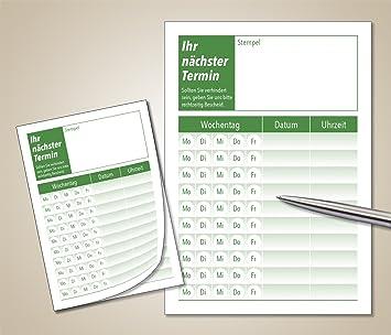 40 x Agenda bloque con por 50 Agenda Notas DIN A7 verde ...
